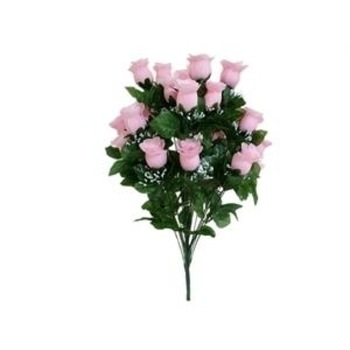 Giant Budget Rose Bud - Pink (big 70cm tall bush)