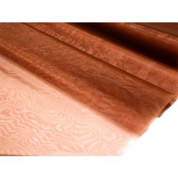 Organza Draping Fabric   - Chocolate 54inch x 40yds