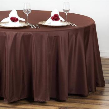 108inch (275cm) Round Tablecloth - CHOC