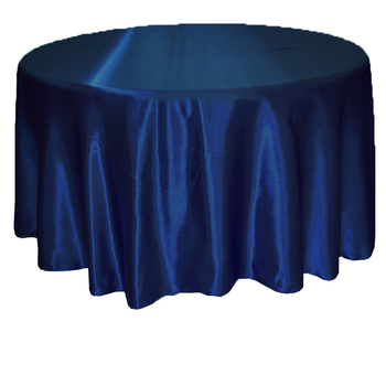 Sensational 120Inch 305Cm Satin Table Cloth Navy Home Interior And Landscaping Fragforummapetitesourisinfo