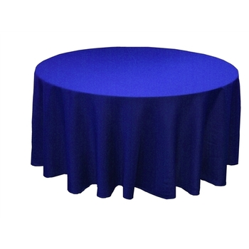 120inch (305cm) Round Tablecloth - Royal