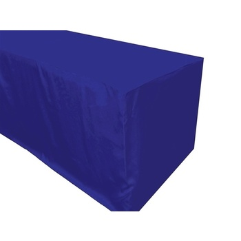 6Ft (1.8m) Fitted Tablecloths - Royal