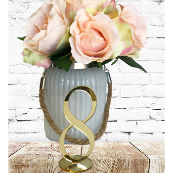 Gold Mirror Table Numbers 11-20