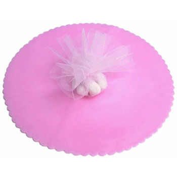 9inch Tulle Circle - Baby Pink - 25pk