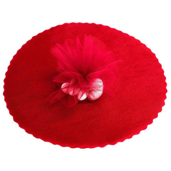 9inch Tulle Circle - Red - 25pk