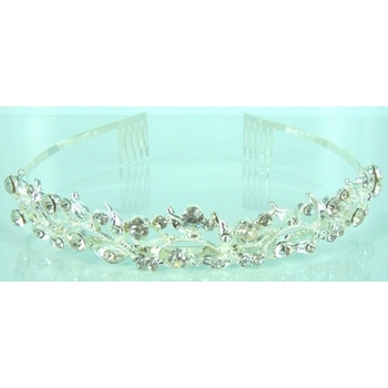 CLEARANCE Tiara Wedding Comb 430 - Rhinestone