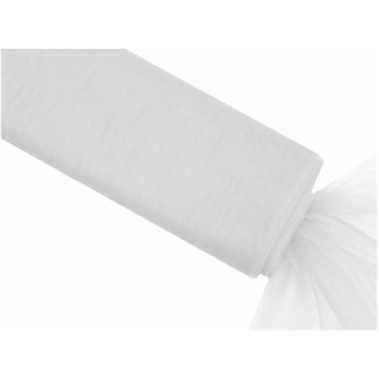 54inch x 10yd Tulle Bolt - White