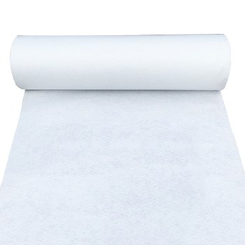1.2mx10m White Aisle Runner Carpet - None Woven Wedding & Events