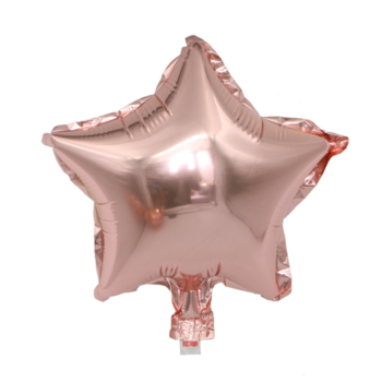 25cm Rose Gold Foil Star Balloon