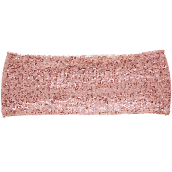 Sequin Chair Band - Rose Gold