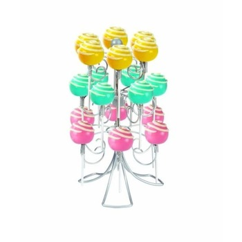 3 Tier - White Metal Lollypop / cake pop Holder