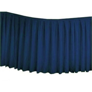 Table Skirting Polyester 4.3m - Navy