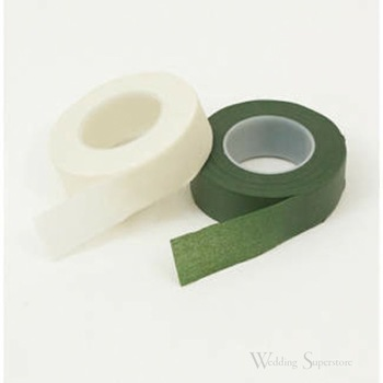 12mm Florist Stem Wrap Tape - White