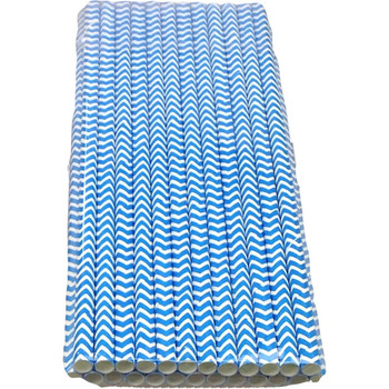 24Pk Royal ZigZag Straw