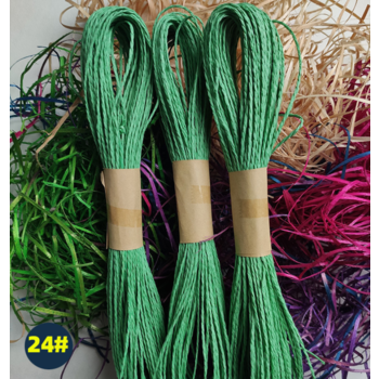 30m Paper Ribbon/Twine - Green