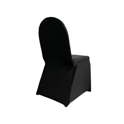 Black Lycra Chair Cover - High Quality